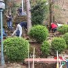 Volunteer work at the Monastery of the Transfiguration-Korea